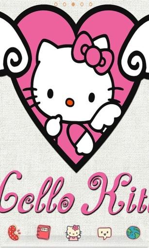 萌系凯蒂猫