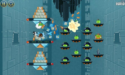 愤怒的小鸟:星球大战高清版截图1