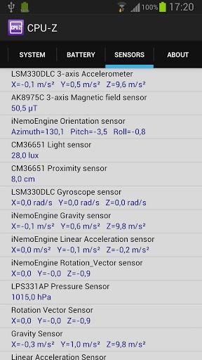 手机信息CPU-Z截图2