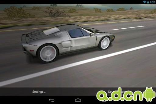 3D汽车动态壁纸 免费版截图0