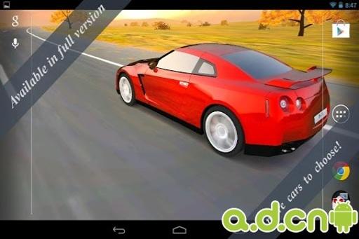 3D汽车动态壁纸 免费版截图1