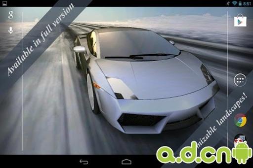 3D汽车动态壁纸 免费版截图2