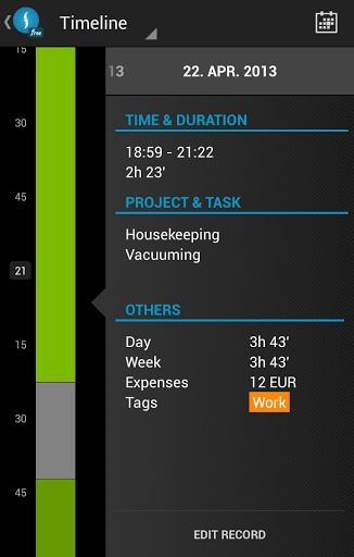 时间追踪管理截图4