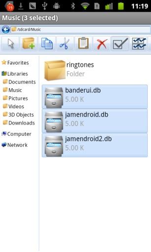 Win7文件管理器截图2