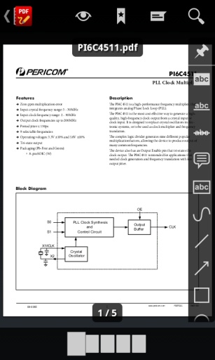 PDF阅读器截图0