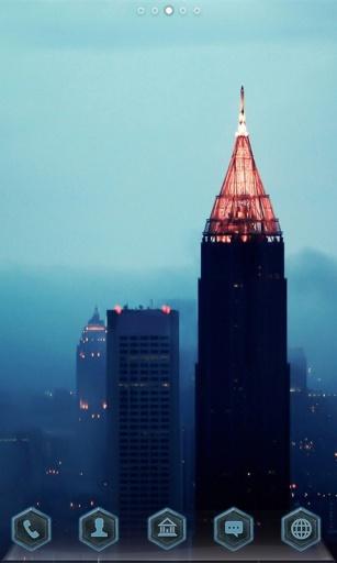 迷雾中的城市