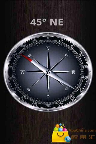 简易指南针下载 简易指南针安卓版下载 简易指南针 1.2.2手高清图片