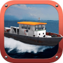 船舶模拟器 - 船驳船