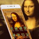 蒙娜丽莎的微笑出自意大利画家达芬奇之手油画著作手机桌面主题