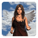 天使的翅膀照片造物主