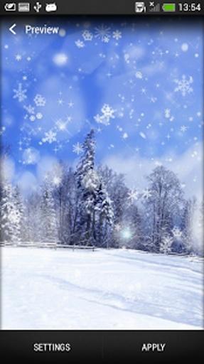 雪花 动态壁纸