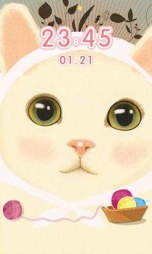 喵星人甜蜜猫可爱解锁(桌面锁屏动态壁纸)