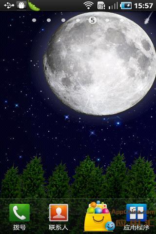月光动态壁纸