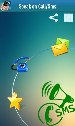 说话来电显示和消息